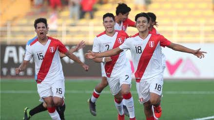 ¡Con puro corazón! Perú derrotó 3-2 a Uruguay y sueña con el Mundial Sub 17