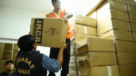 Sunat incautó casi un millón de cajetillas de cigarros de contrabando valorizadas en S/7 millones