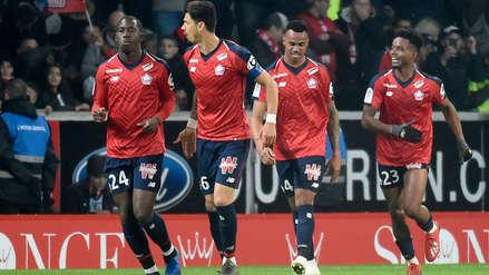 PSG fue goleado por  Lille y aún no puede dar la vuelta en la Ligue 1 de Francia