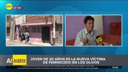 Los Olivos | Hombre asesina a su expareja y luego confiesa su crimen a la Policía