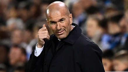 La dura autocrítica de Zinedine Zidane: