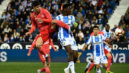 Real Madrid igualó con Leganés y no pudo alargar su racha de 5 victorias seguidas