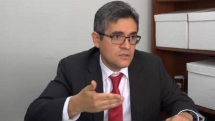 Fiscal Domingo Pérez niega direccionamiento en detención de PPK: