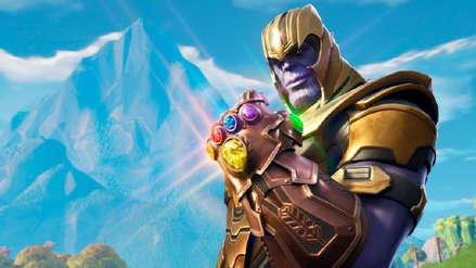 Thanos estaría de regreso en Fortnite por motivo de Avengers: Endgame