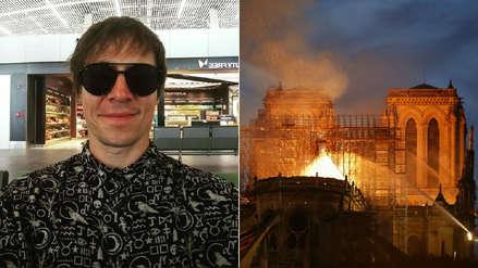 Salim Vera lanza polémico comentario por incendio de Notre Dame: