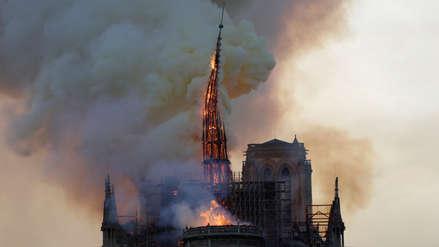 Neymar, Mbappé y Rakitic lamentan incendio de la catedral Notre Dame