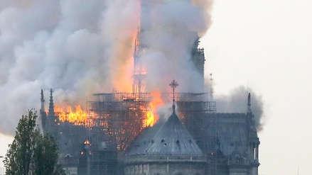 Incendio en Notre Dame: Así informa el mundo sobre el siniestro
