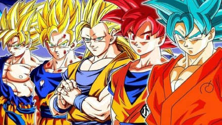 Dragon Ball: ¿Gokú con todas sus transformaciones a la vez? Este arte une todo el poderío del protagonista