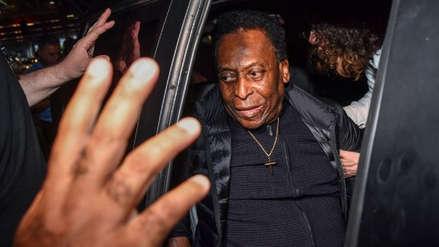 Pelé fue dado de alta y retornó a casa tras ser operado de un cálculo renal