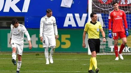 El mal momento del Real Madrid expuesto en esta dura estadística