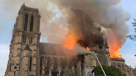 ¿Qué se ha salvado y qué se ha dañado en el incendio de la catedral de Notre Dame?
