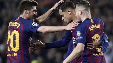 Barcelona vs. Manchester United: resultado y goles -Champions League 2018/19