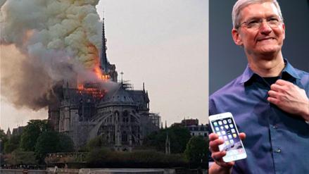 Notre Dame | Apple anuncia que contribuirá a la reconstrucción de catedral