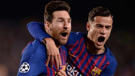 Barcelona vs. Manchester United | Lionel Messi apareció con su magia para el primer gol del partido