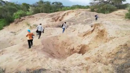 Video | Huaqueros salen corriendo tras operativo para proteger sitios arqueológicos en Lambayeque