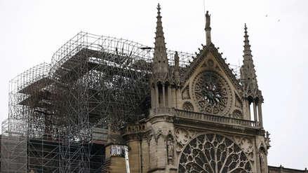 Diez imágenes que muestran el daño que causó el incendio en Notre Dame