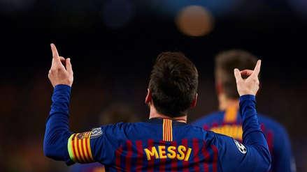 Lionel Messi tras clasificar a la semifinal de la Champions League :