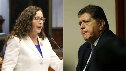 Rosa Bartra justificó la exclusión de Alan García y Luis Nava en el informe final de la Comisión Lava Jato