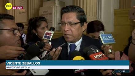 Ministro de Justicia: Diálogo en Challhuahuacho continúa pese al retiro de dirigentes