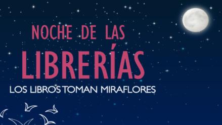 """""""Los libros toman Miraflores"""": Descubre las mejores ofertas en la Noche de las Librerías"""
