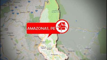 Sismo de mangitud 5.5 sacudió Amazonas