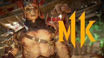 Mortal Kombat 11 | Shao Kahn se luce en un espectacular primer tráiler