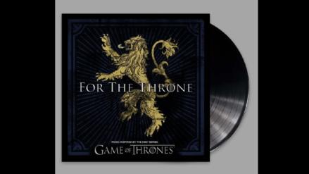 """""""Music is coming"""": Se publicará un disco con canciones inspiradas en """"Game of Thrones"""""""