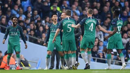 El doblete de Son que sorprendió al Manchester City en su propio estadio