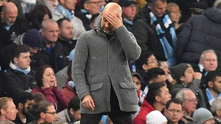 Pep Guardiola tras ser eliminado de la Champions: