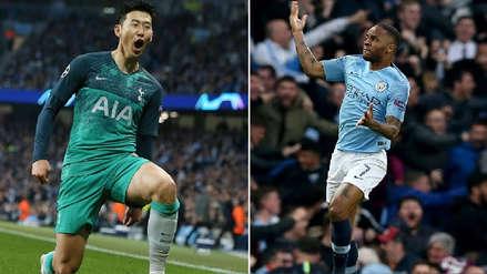 Manchester City vs. Tottenham: se anotaron cuatro goles ¡en siete minutos!