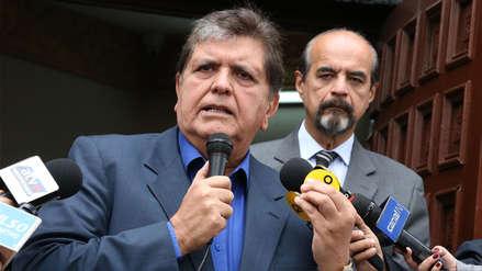 El Gobierno declaró tres días de duelo nacional por la muerte de Alan García
