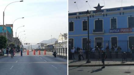 Tramo de la avenida Alfonso Ugarte fue cerrado por velorio de Alan García