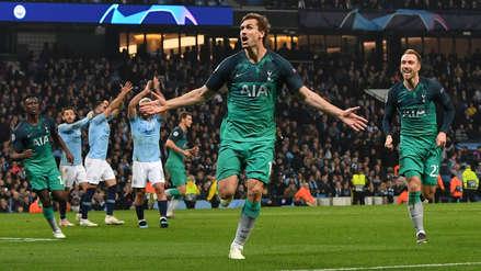 Tottenham eliminó al Manchester City y clasificó a la semifinal de la Champions League