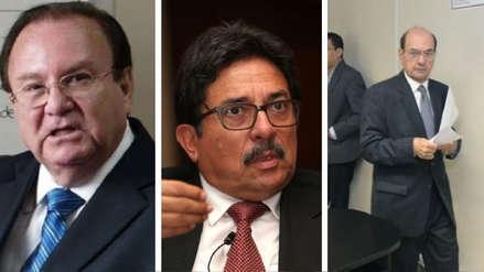 Poder Judicial ordenó detención preliminar de exfuncionarios por caso Odebrecht