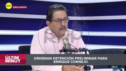 """""""De aquí me voy al Ministerio Público"""": Enrique Cornejo anunció en RPP que se entregaba a la Justicia"""