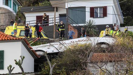Al menos 28 turistas alemanes murieron en un accidente de autobús en Portugal