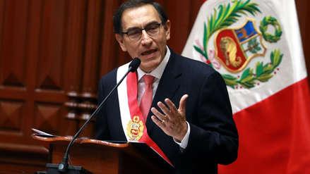 Presidente Martín Vizcarra: