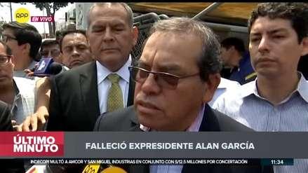 Alan García será velado en el Aula Magna de la Casa del Pueblo