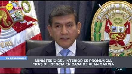 Ministro Morán: