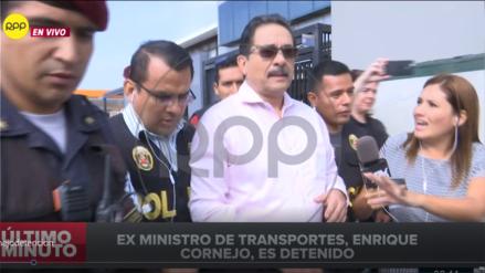 Así fue la detención de Enrique Cornejo tras la orden dictada por el Poder Judicial