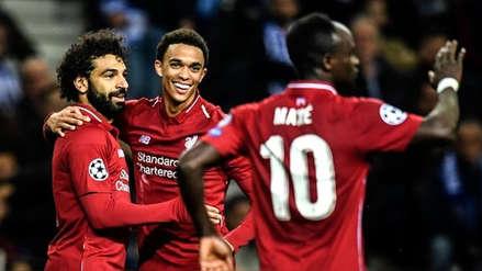 Liverpool goleó 4-1 a Porto y clasificó a la semifinal por la Champions League