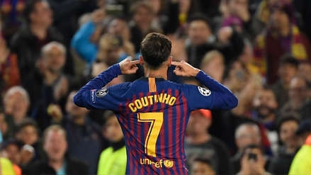 Barcelona: Coutinho rompió su silencio tras su polémica celebración ante Manchester United