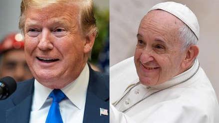 Donald Trump habló por teléfono con el papa Francisco sobre la crisis en Venezuela