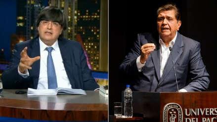 Jaime Bayly recordó sus episodios más memorables con Alan García