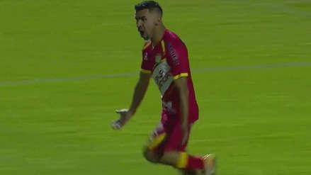 ¡Sí se puede! El gol de Ricardo Salcedo frente a Montevideo Wanderers que ilusiona a todo Sport Huancayo