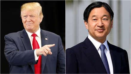 Trump será el primer líder extranjero en visitar al nuevo emperador de Japón