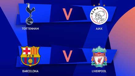 Fechas y horarios definidos de las semifinales de la Champions League