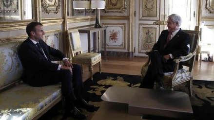 Piñera ofreció a Francia cobre y madera de Chile para reconstruir la Catedral de Notre Dame