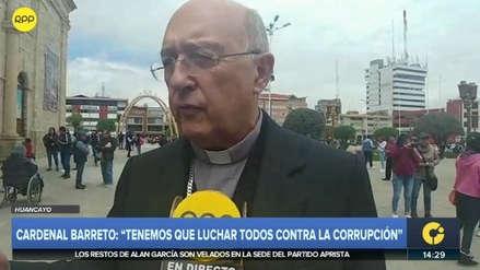 Cardenal Pedro Barreto sobre muerte de Alan García: