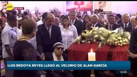 Madre de Alan García llegó al velorio de su hijo en la Casa del Pueblo